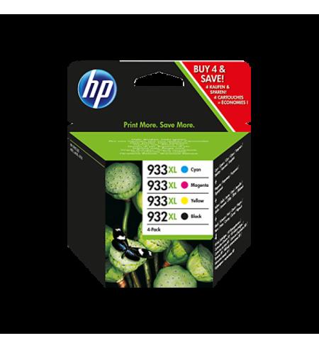 HP 932XL / 933XL Combo Pack 4 Tinteiros